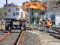 chantier d'entretien de voie ferrée - Nantes 44